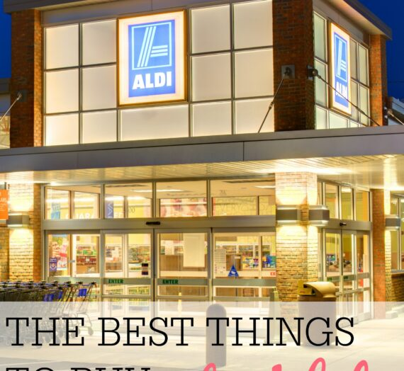 The Best Things You Should Buy at Aldi