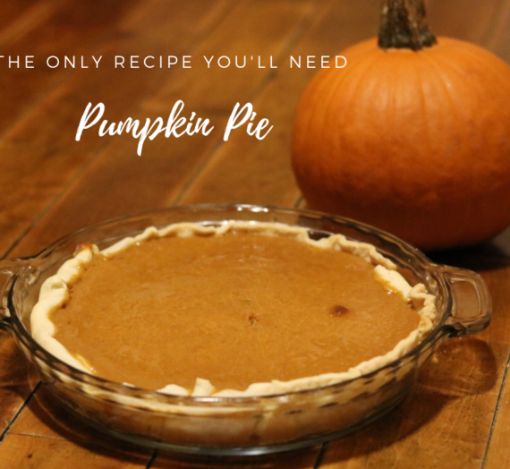 The Only Pumpkin Pie Recipe You'll Need