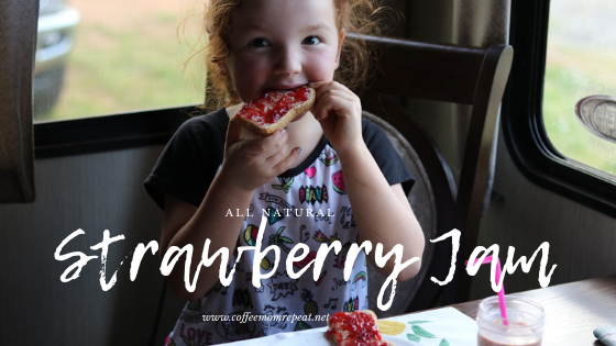 All-Natural Strawberry Jam