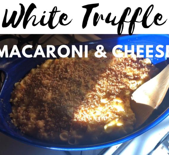 White Truffle Macaroni and Cheese