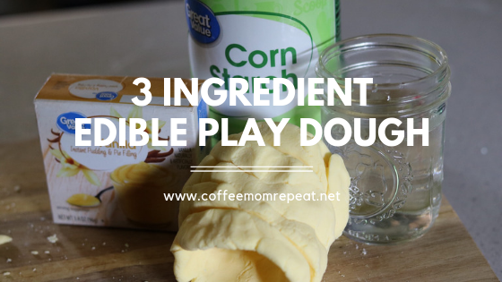 3-Ingredient Edible Play Dough