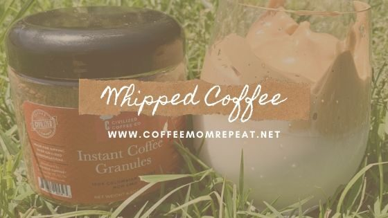 Whipped Coffee — Easy, Delicious!