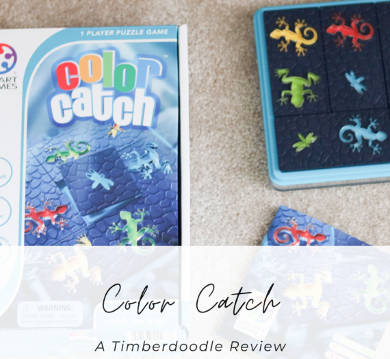 Color Catch – A Timberdoodle Review
