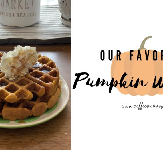 Our Favorite Pumpkin Waffles