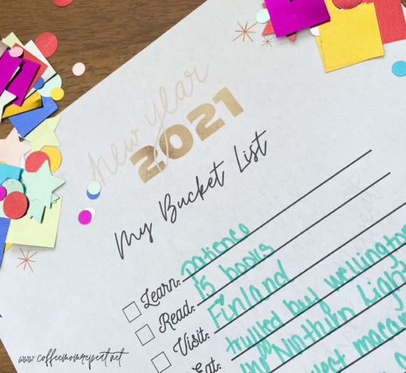 Looking Back on 2020 + A Fun Free Printable!