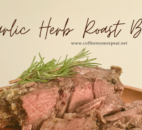 Garlic Herb Roast Beef