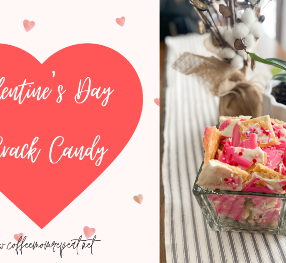 Easy Valentine's Day Crack Candy